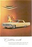 1962 Cadillac Sedan De Ville Jewels Ad