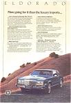 Cadillac Eldorado Ad