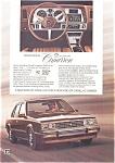Cadillac Cimarron Ad