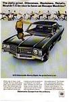 1970 Oldsmobile Ninety Eight Ad