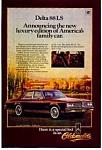 Oldsmobile Delta 88 Ls Ad