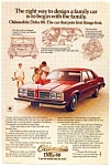 1978 Olds Delta 88 Ad
