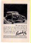 Buick 8 Ad 1936