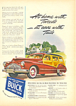 Buick Estate Wagon Automobile Ad 1946