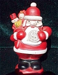 Christmas Club Santa Claus Vinyl Bank