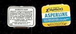 Vintage Pocket Tin, Asperline Tablets