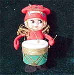 Japan Elf Pixie Drummer Boy Christmas Ornament