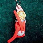 Japan Elf Pixie Figural Christmas Ornament