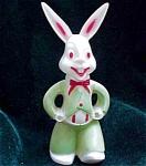 Hard Plastic Rabbit Easter Toy Decoration