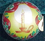 Christmas Candle Tin Candy Container