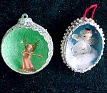 Christmas Tree Ornament - Set Of 2
