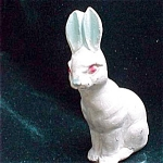 Easter Bunny Rabbit Chalk Easter Decoration