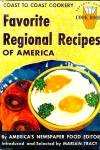 Favorite Regional Recipes Of America: Coast To Coast Cookery, 1952