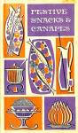 Festive Snacks And Canapes, 1967 Hb By Evelyn Loeb