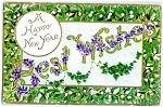 Floral New Year's Best Wishes