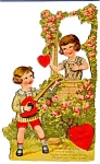 Valentine Boy, Mandolin, Girl, Roses