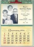 1956 Iowa Family Grocery Store Calendar