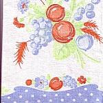 Fruit Kitchen Linen Tea Towel