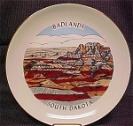 Badlands South Dakota Souvenir Plate