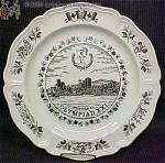 Wedgwood Montreal Olympiad Xxi Plate
