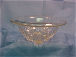 Depression Era Clear Glass Mixing Bowl - Small