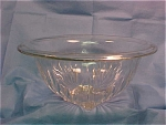 Depression Era Clear Glass Mixing Bowl - Large