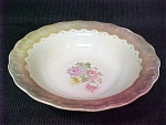 Old Floral Lustre Bowl
