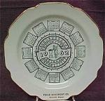1962 Calendar Advertising Plate