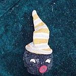 Early Pom Pom Black Americana Golliwog Ornament