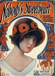 Nobody's Sweetheart - 1924 Sheet Music