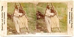 Black Americana Stereoscopic Card