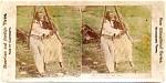 Black Americana Stereoscopic Card