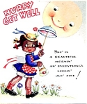 Black Americana Get Well Card