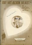 Oh My Achin' Heart - Vaughn Monroe - 1947
