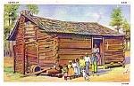 Black Americana Postcard- Dixieland