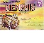 Memphis Tenn. Black Americana Souvenir Post Card Folder