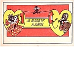 1906 Black Americana Postcard