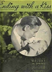 "Ending With A Kiss- 1934 ""melody In Spring"""