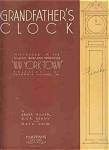 "Grandfather's Clock - From ""new York Town"" 1934"