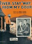 River Stay 'way From My Door - Gene & Glen 1931 Sheet Music