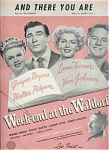 And There You Are - From Week-end At The Waldorf - Ginger Rogers