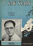 I Saw Stars - Aldo Ricci - 1934