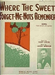 Where The Sweet Forget-me-nots Remember - 1929