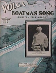 The Volga Boatman Song Russian Folk Melody - 1935