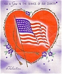 World War Ii Honefront Valentine For Son