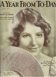 A Year From To-day -norma Talmadge - May Singhi Breen