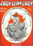 Laugh,clown,laugh - Lon Chaney 1928 Movie Sheet Music