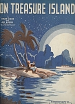 On Treasure Island - 1935 Sailboat Cover Art