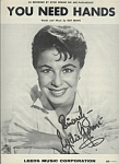 You Need Hands - Eydie Gorme 1958