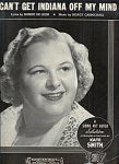 Can't Get Indiana Off My Mind - Kate Smith 1940